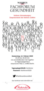 Fachforum Gesundheit: Seltene Erkrankungen Empowerment der kleinen Zahlen